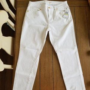 NWT Michael Kors Skinny White Jeans Sz. 4
